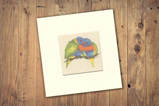 Rainbow Lorikeet Print