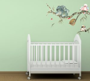 Aussie Babies Wall Decal by Lesley Davies