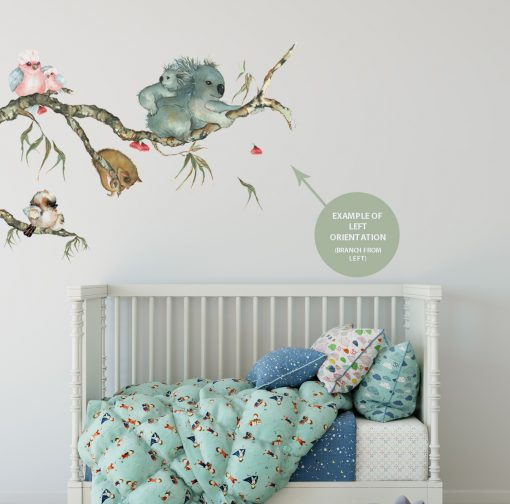 Australian Fabric Wall Stickers