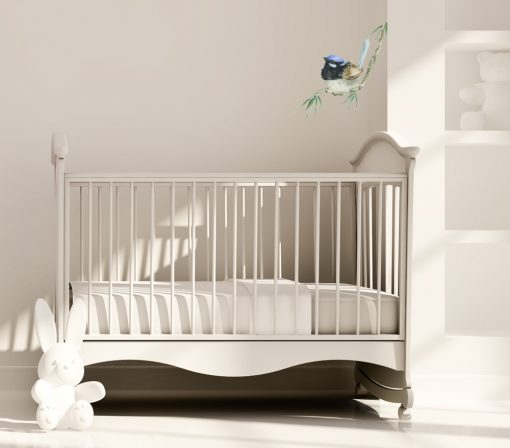 Blue Wren Wall Sticker Decal