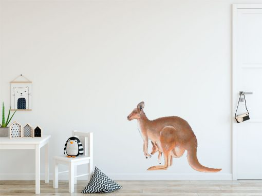 Kangaroo Wall Sticker