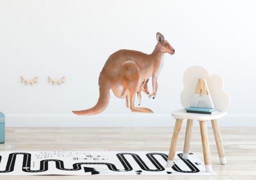 Kangaroo-Wall-Sticker