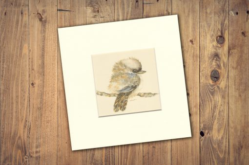 Blue Kookaburra Print