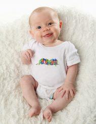 Rainbow Lorikeets Baby Bodysuit / Onesie