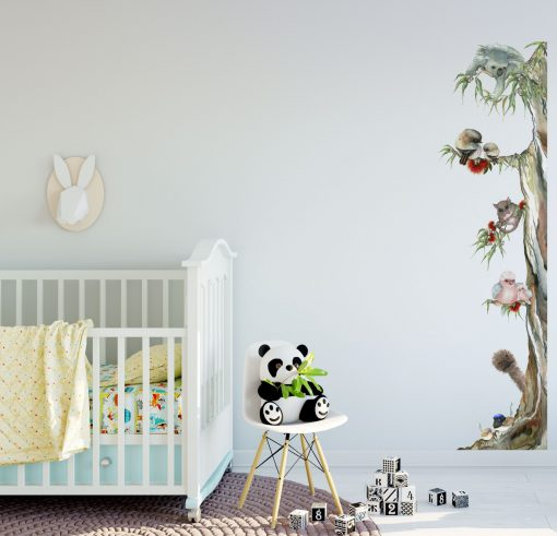 Australian Animal Tree Wall Sticker