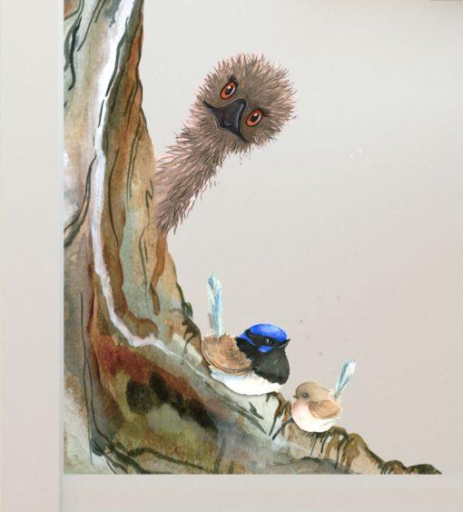 Australian Animal Tree Wall Sticker