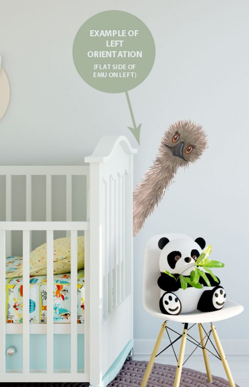 Australian Fabric Wall Stickers