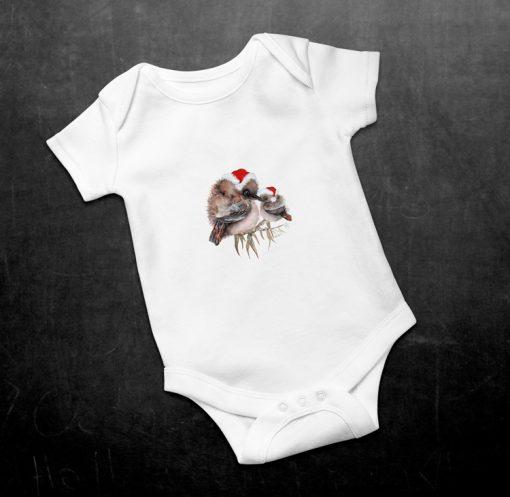 Kookaburra Baby Onesie Christmas Baby Bodysuit
