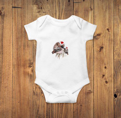 Kookaburra Christmas Baby Bodysuit