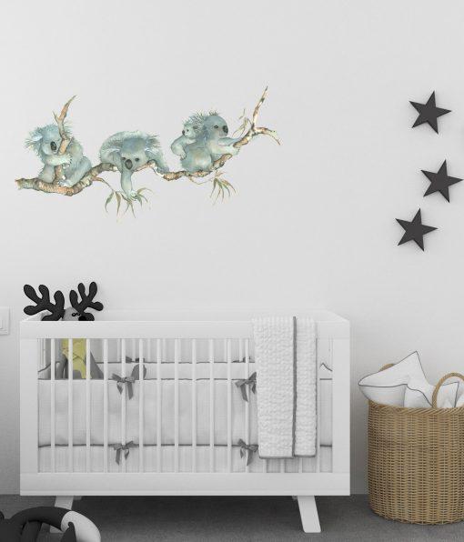Koala Nursery Wall Sticker