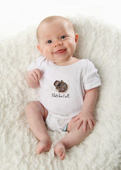 Wombat Baby Onesie Bodysuit