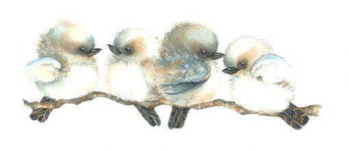 Kookaburra Branch Wall Sticker