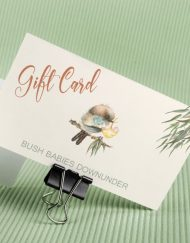 Bush Babies Downunder Gift Card