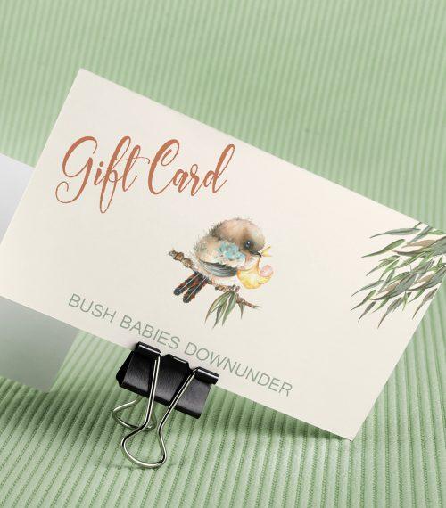 Bush Babies Downunder Gift Card
