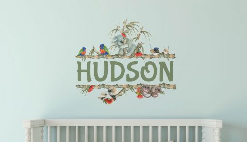 Australian Personalised Kids Wall Decal