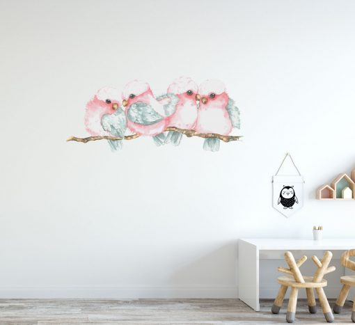 Galah Branch Wall Sticker