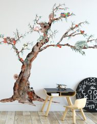 Australian Animal Tree Nursery wall sticker
