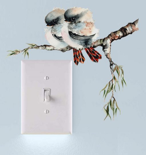 Kooka Light Switch Wall Sticker Decal