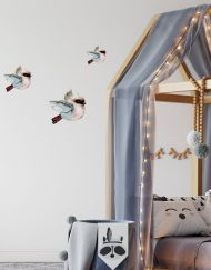 Flying Kookaburra Wall Stickers