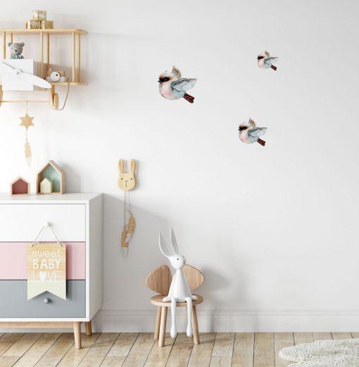 Flying Kookaburra Wall Stickers