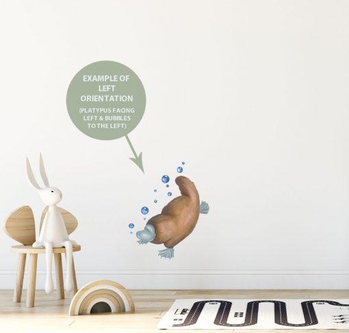 Platypus Wall Sticker