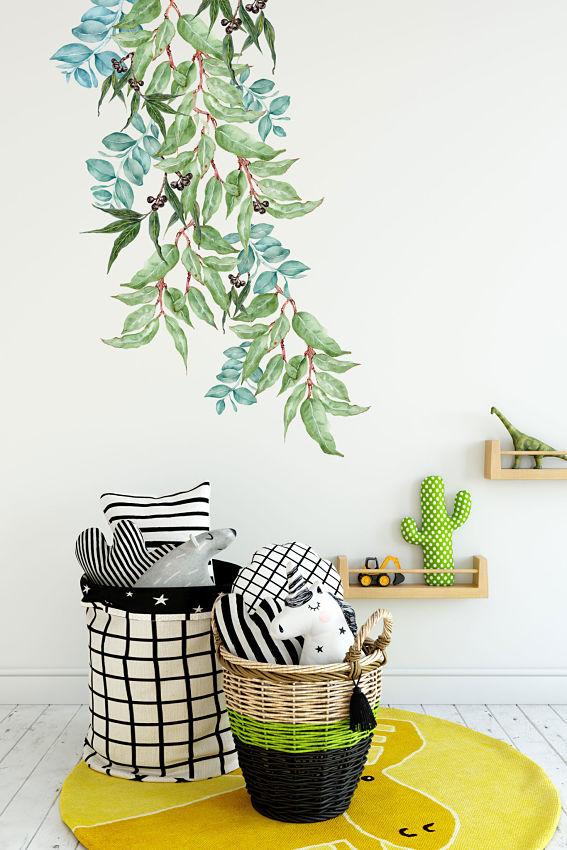 Australian Native Greenery Wall Sticker