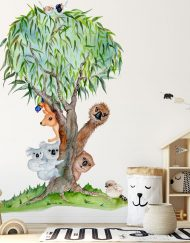 Aussie Mates Tree Wall Sticker