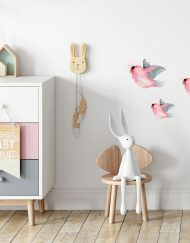 Flying Galah Wall Stickers