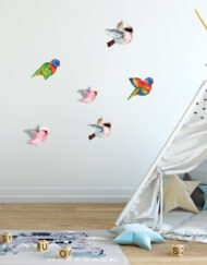 Flying Bird Mixed Wall Sticker Pack