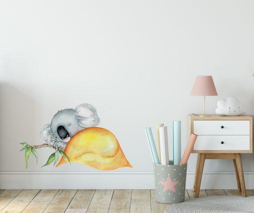 Sleeping Koala Wall Sticker