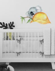 Sleeping Koala Wall Sticker