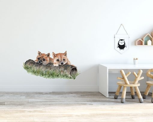 Dingo Pups Removable Wall Sticker
