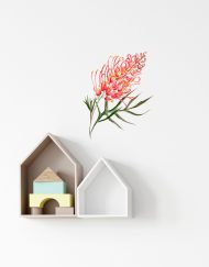 Grevillea Wall Sticker