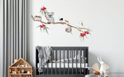 How to Create a Beautiful and Unique Baby Nursery With Removable Wall Decals Australia