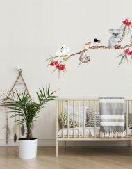 Aussie Bush Babies Branch Wall Sticker