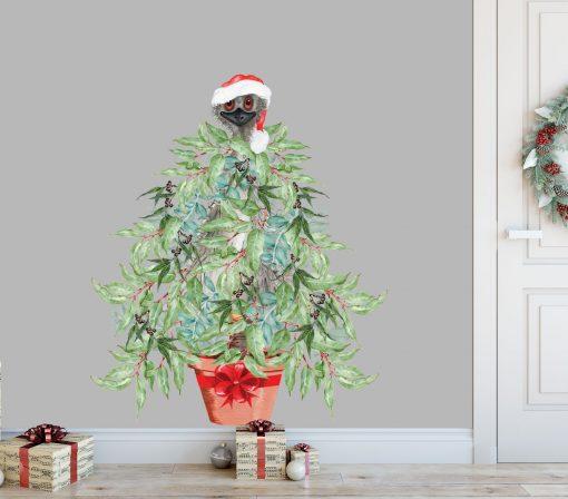 Aussie Christmas Tree Wall Sticker