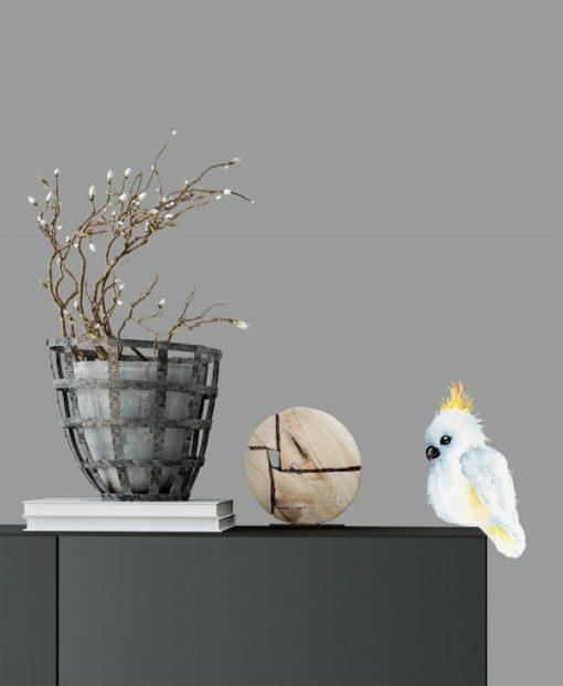 Cockatoo Resting Birds Wall Sticker