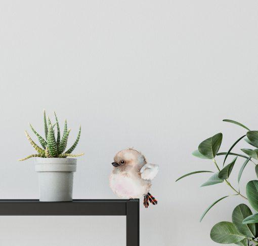 Kookaburra Resting Bird Wall Sticker