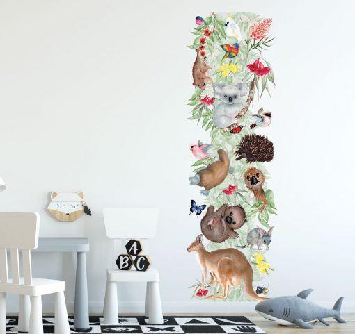 Bush Babies Growth Chart Wall Sticker