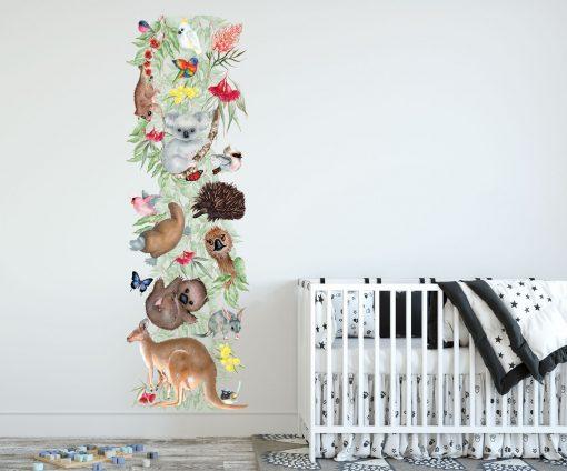 Bush Babies Growth Chart Wall Sticker