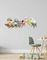 Flora and Feathers Branch Wall Sticker